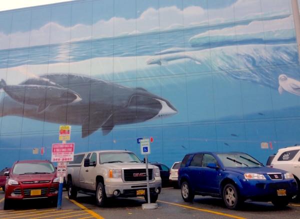 Anchorage street scene