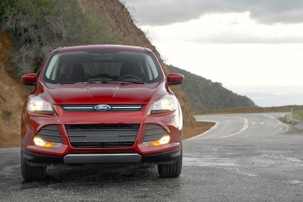 Ford Escape USA September 2015. Picture courtesy motortrend.com