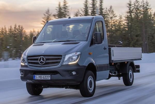 Mercedes Sprinter Russia September 2015