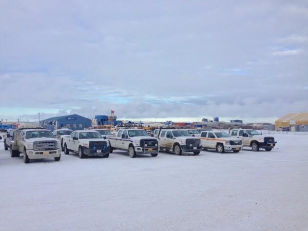 Prudhoe Bay pickups 2