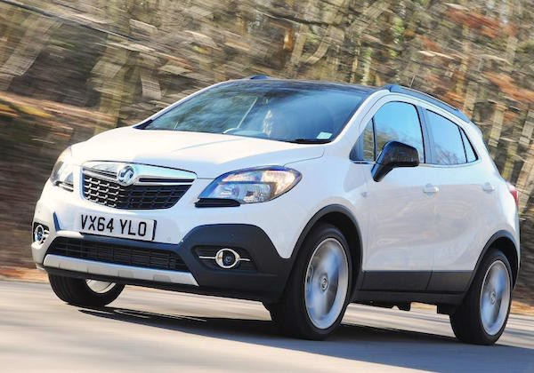 Vauxhall Mokka UK September 2015. Picture courtesy autoexpress.co.uk