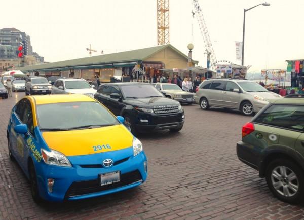 4. Toyota Prius Taxi Seattle