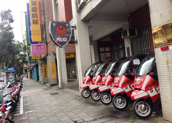 BMW Scooter police Taipei