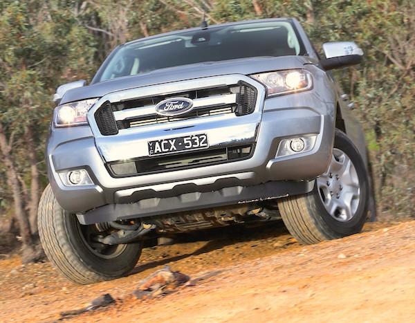Ford Ranger Australia October 2015