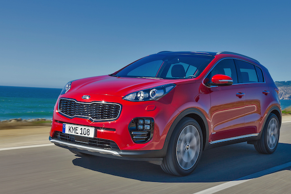 Kia Sportage Spain July 2016