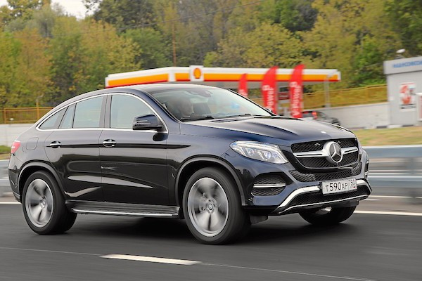 Mercedes GLE Russia October 2015. Picture courtesy zr.ru