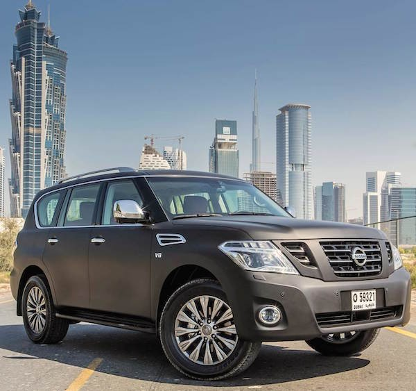Nissan Patrol Saudi Arabia September 2015