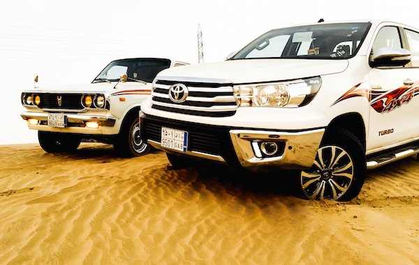 Toyota Hilux Saudi Arabia September  Picture Courtesy Toyota Flickr