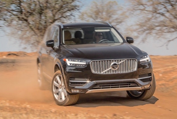 Volvo XC90 Moldova November 2016. Picture courtesy motortrend.com