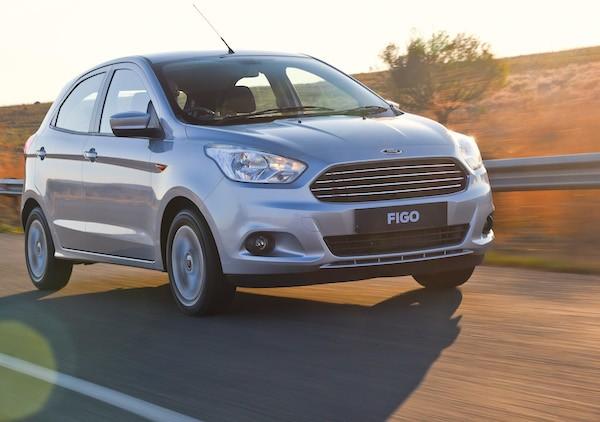 Ford Figo South Africa November 2015