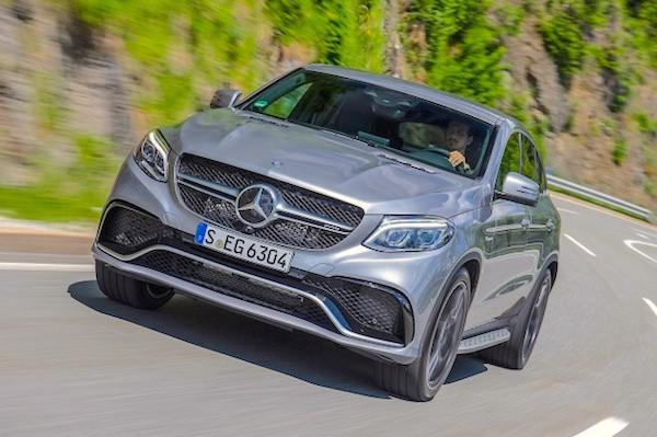 Mercedes GLE Europe November 2015