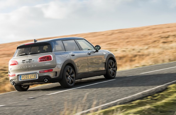 Mini Clubman UK November 2015