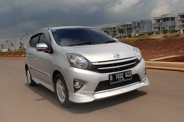 Toyota Agya Indonesia November 2015. Picture courtesy autobild.co.id