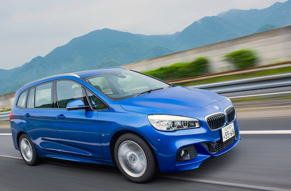 BMW 2 Series Gran Tourer Japan 2015. Picture courtesy response.jp