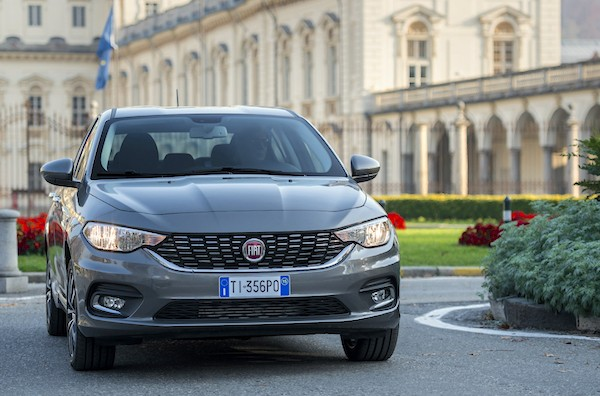 Fiat Tipo Europe December 2015. Picture courtesy motorpad.it