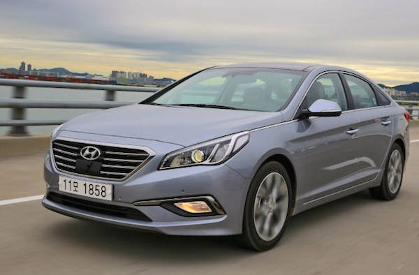 Hyundai Sonata South Korea 2015