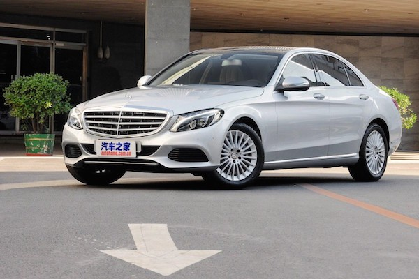 Mercedes C Class L China 2015. Picture courtesy autohome.com.cn