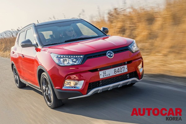 Ssangyong Tivoli South Korea 2015. Picture courtesy autocar.co.kr