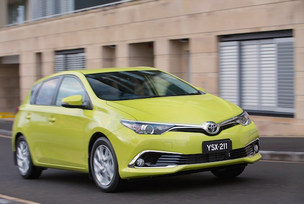 Toyota Corolla Australia 2015