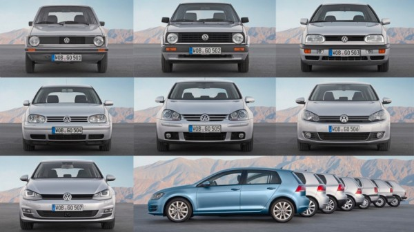 VW Golf 1974 2014 Germany 2015