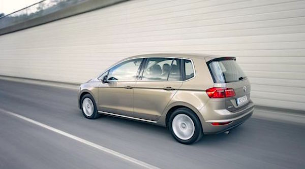 VW Golf Sportsvan Ireland 2015. Picture courtesy irishtimes.com