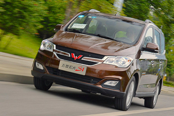 Wuling Honnguang S1 China 2015. Picture courtesy lulutongqc.com