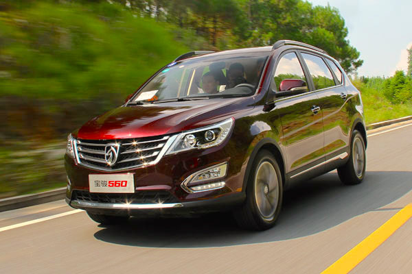Baojun 560 China January 2016. Picture courtesy Ifeng