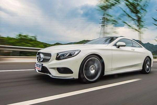 Mercedes S-Class Coupe Hong Kong April 2016. Picture courtesy autohome.com.cn
