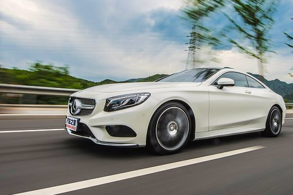Mercedes S-Class Coupe China January 2016. Picture courtesy autohome.com.cn