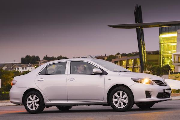 Toyota Corolla Quest Botswana 2015
