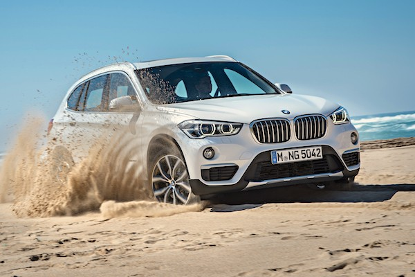 BMW X1 Greece February 2016