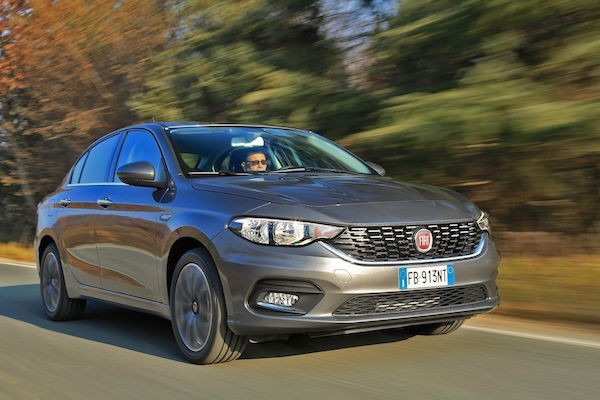 Fiat Tipo Croatia March 2016. Picture courtesy largus.fr