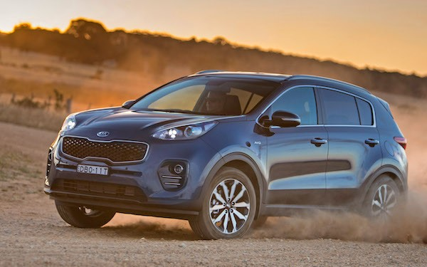 Kia Sportage Egypt February 2016