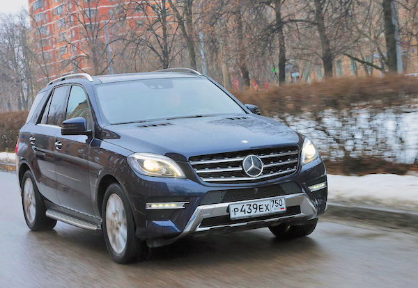 Mercedes GLC Russia January 2016. Picture courtesy zr.ru