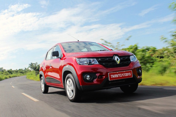 Renault Kwid India February 2016. Picture courtesy motoroids.com
