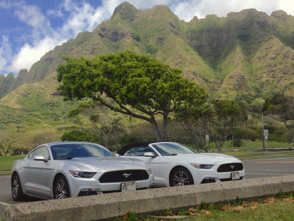 1. Ford Mustang Oahu