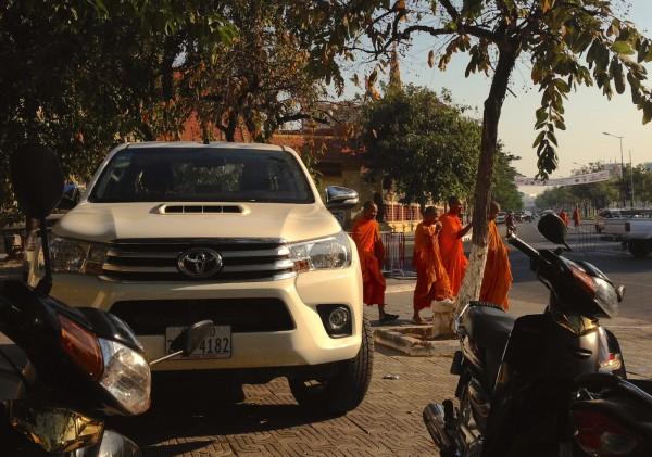1. Toyota Hilux Phnom Penh