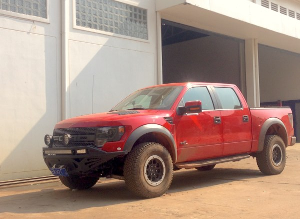 10. Ford F-150 Raptor Chinese Siem Reap