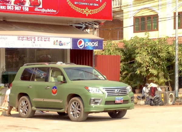 12. Lexus LX military Siem Reap