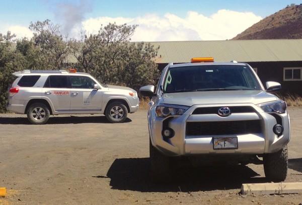 4. Toyota 4Runner Ranger Mauna Kea