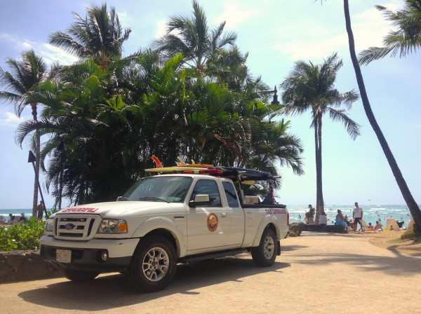 5. Ford Ranger Waikiki Beach
