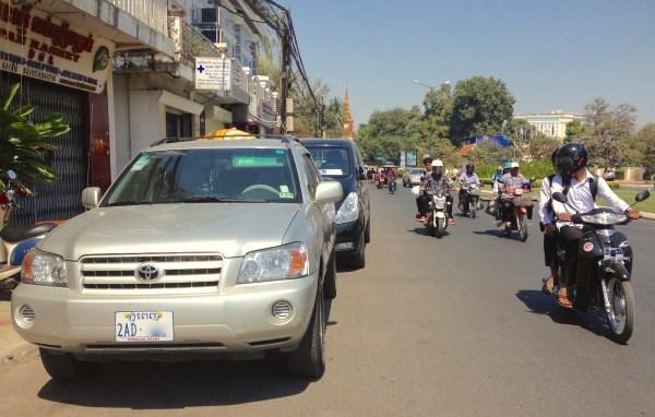 6. Toyota Highlander Phnom Penh