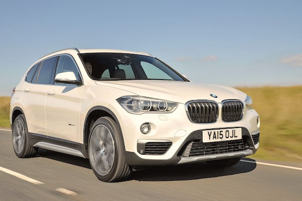 BMW X1 UK March 2016. Picture courtesy autoexpress.co.uk