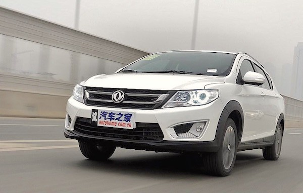 Dongfeng Fengshen AX3 China March 2016. Picture courtesy autohome.com.cn