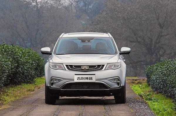Geely Boyue China March 2016. Picture courtesy of auto.qq.com