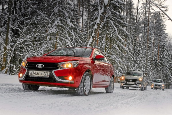 Lada Vesta Russia March 2016. Picture courtesy zr.ru