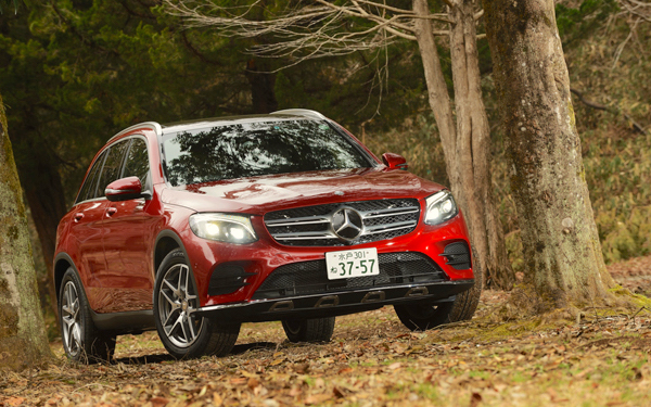 Mercedes GLC Japan March 2016. Picture coutesy autoc-one.jp
