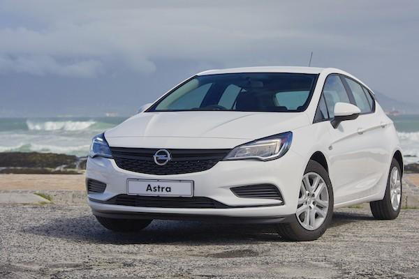 Opel Astra Poland June 2016