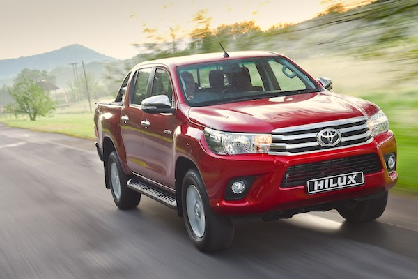 Toyota Hilux South Africa February 2016
