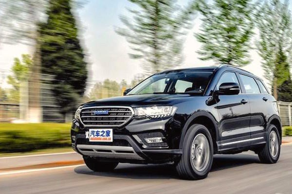 Haval H6 Coupe China April 2016. Picture courtesy autohome.com.cn
